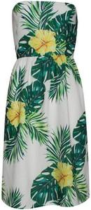 Sukienka Smashed Lemon mini bez rękawów