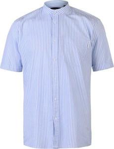 Koszula Pierre Cardin ze stójką z krótkim rękawem