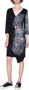Sukienka Desigual z długim rękawem