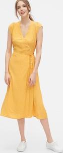 Sukienka Gap z dekoltem w kształcie litery v bez rękawów