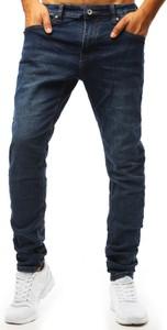 Niebieskie jeansy Dstreet w stylu casual