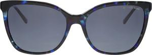 Granatowe okulary damskie Michael Kors