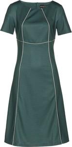 Zielona sukienka bonprix bpc selection