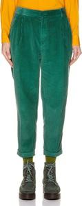 Spodnie United Colors Of Benetton w stylu klasycznym ze sztruksu