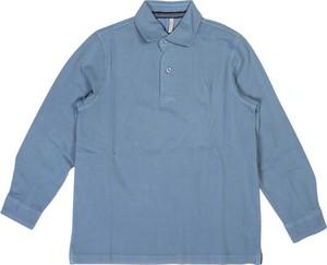 Niebieska koszulka dziecięca Sun 68 z bawełny