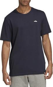 Granatowy t-shirt Adidas