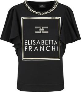 Bluzka Elisabetta Franchi w młodzieżowym stylu