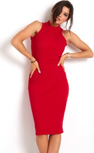 Sukienka Ivon z bawełny bez rękawów