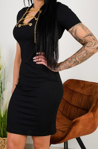 Sukienka Olika z krótkim rękawem
