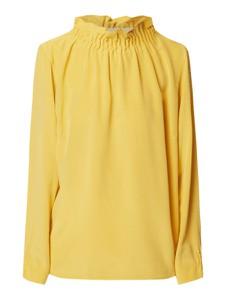 Żółta bluzka Nadine H z jedwabiu