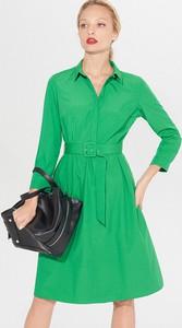 Zielona sukienka Mohito