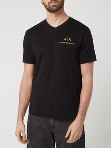 T-shirt Armani Exchange w stylu casual z krótkim rękawem