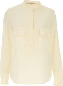 Koszula Stella McCartney z długim rękawem z jedwabiu