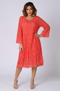 Sukienka Plus Size Company z bawełny midi