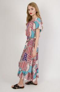 Sukienka Olika oversize w stylu boho