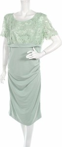 Zielona sukienka Paulina prosta