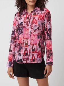 Różowa koszula Guess