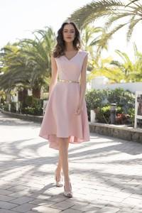 Różowa sukienka Marconifashion