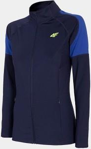 Granatowa bluza 4F w sportowym stylu