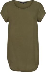 Zielony t-shirt Vero Moda