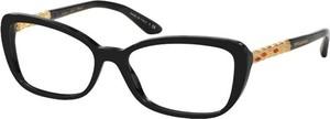 Czarne okulary damskie Bvlgari