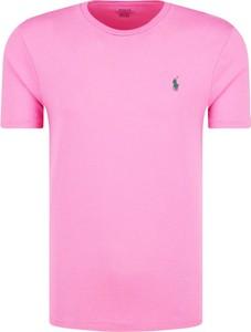 T-shirt POLO RALPH LAUREN z bawełny z krótkim rękawem w stylu casual