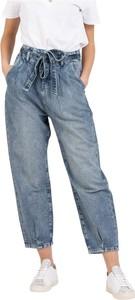 Niebieskie jeansy Patrizia Pepe w stylu casual