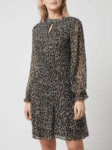 Sukienka S.Oliver Black Label z długim rękawem mini w stylu casual