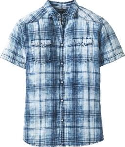 Niebieska koszula bonprix RAINBOW w stylu casual