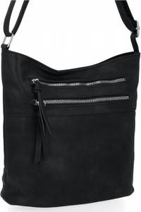 Czarna torebka Herisson na ramię