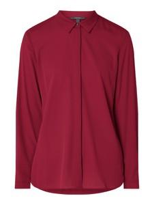 Czerwona koszula Esprit z długim rękawem