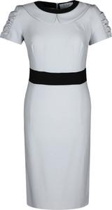 Sukienka Fokus w stylu klasycznym ołówkowa midi