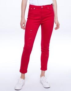 Czerwone jeansy L'AF