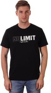 T-shirt Just yuppi z krótkim rękawem z bawełny