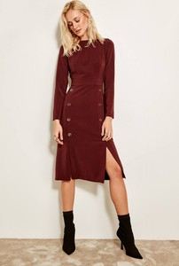 Sukienka Trendyol midi w stylu casual szmizjerka