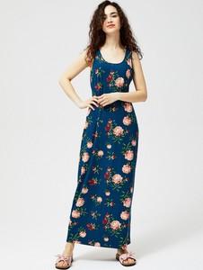 Sukienka Moodo bez rękawów z okrągłym dekoltem