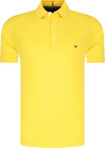 Koszulka polo Tommy Hilfiger w stylu casual z krótkim rękawem