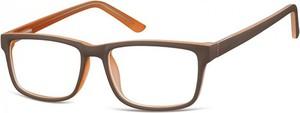 Stylion Okulary Zerówki oprawki Sunoptic CP157H brązowe