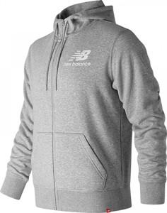 Bluza New Balance z nadrukiem z bawełny w sportowym stylu