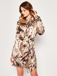 Sukienka Guess by Marciano mini koszulowa w stylu casual