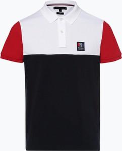 e9fa57381b824 Wielokolorowe koszulki męskie Tommy Hilfiger, kolekcja wiosna 2019