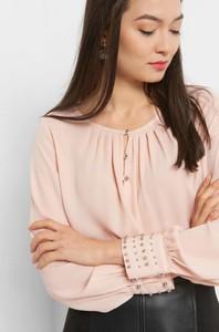 Różowa bluzka ORSAY z tkaniny
