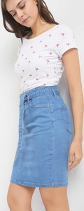 Spódnica ORSAY midi z jeansu