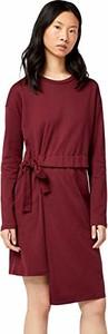 Sukienka amazon.de asymetryczna z okrągłym dekoltem