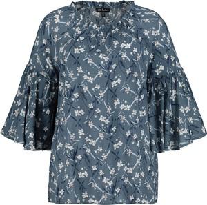 Niebieska bluzka Ulla Popken