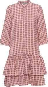 Różowa sukienka A-view mini