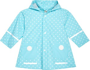 Niebieska kurtka dziecięca Playshoes dla dziewczynek