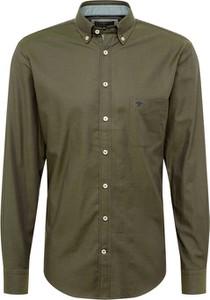 Koszula Fynch Hatton z kołnierzykiem button down z bawełny
