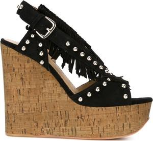 Czarne sandały Ash