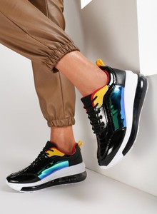 Sneakersy Renee sznurowane